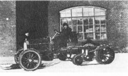 Kegresse Tracks on Chassis Lessner-Mercedes, 1912