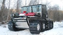 Land Tamer winter road vehicle