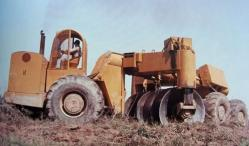 Letourneau plough in the 50s