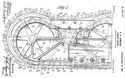 Lombard Track Assembly Patent 1900