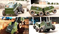 Longma Articulated 8x8 Robot unmanned