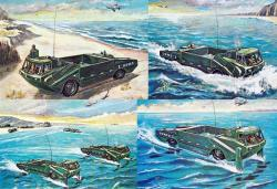 LVH-X1 Amphibious Vehicle, 1963