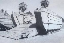 LVTU-X2 Amphibious Vehicle, 1951