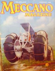 Marsh buggy on meccano magazine 1938