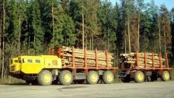 Maz 543 for forestry work