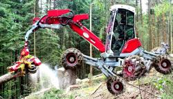 Menck multi-wheeled walking excavator prototype 1