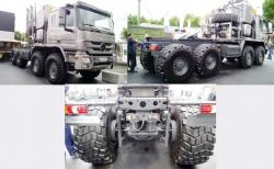 Mercedes actros 4661 as 8x8