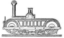 Miller Plowing Locomotive, 1859