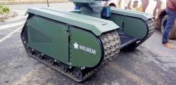 Milrem unmaned ground vehicle