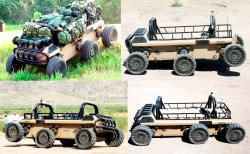 Mule multifunction utility logistics and equipment