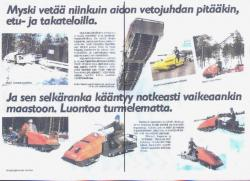 Myski Snowmobile