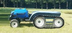 New Holland tractor with track system of David Hansen