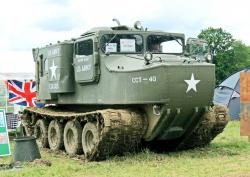 Otter M76 Amphibious Vehicle 1950