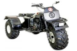Paxus atv 3 wheels drive trike