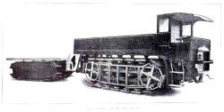 Pedrail Truck and Trailer, 1913