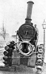 Pedrail Wheel Tractor, 1900