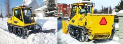 Prinoth snow removal SW4S municipal vehicle