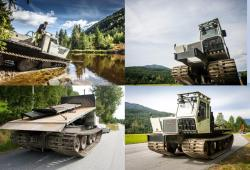 Prinoth utility vehicle