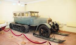 Rolls Royce Silver Ghost with Kegresse Tracks, 1916