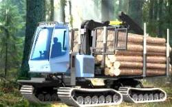 Sca tests for tracked vehicle as forwarders 2013