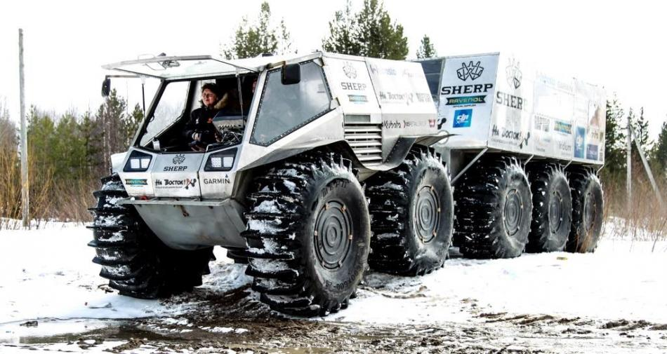 Sherp Atv For Sale >> The Off Road Sherp And The Expedition To The East 2017