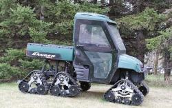 Six tracks Polaris ranger