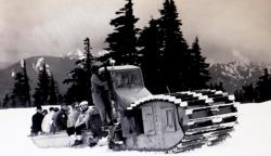 Snow tractor 1940