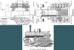 Stratton Traction Engine, 1892