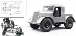 Sturdy Articulated Vehicle from Straussler, 1935