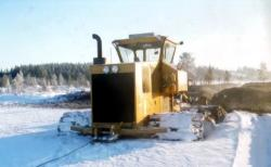 Suokone Suokko 450 making some ditches, 1983 87 2