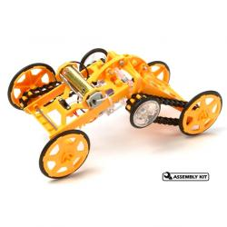 Tamiya wheel walker robot