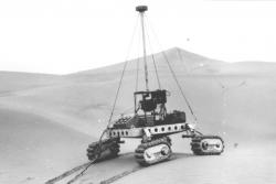 Tracked Russian Rover Prototype