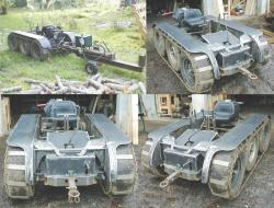Tracked vehicle