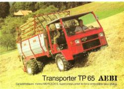 Transporter aebi tp65 mountain