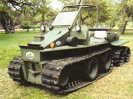 Military Vehicles For Sale >> DAVID HANSEN, DESIGNER AND BUILDER OF HIGH MOBILITY VEHICLES