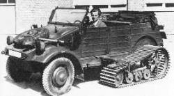 Type 155 3A Kubelwagen with Tracks