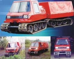 Uaz tracked vehicle