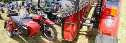 Ural side car 2x2