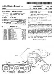 USP5318141 low impact tracked vehicle patent