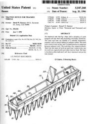 USP5547268 grousers patent