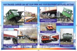 UTV Voyager articulated tracked carrier 2