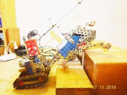 Walking Machine by Meccano