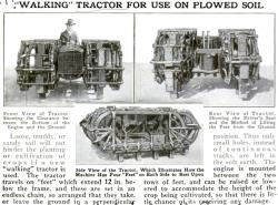 Walking Tractor of S T Corbitt 1922